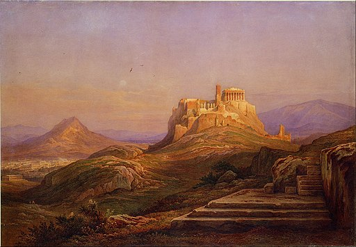 Muller Rudolph - View of the Acropolis from the Pnyx - Google Art Project