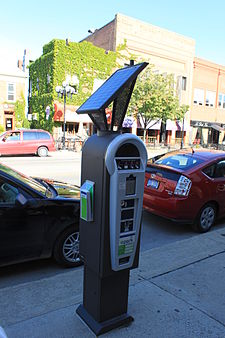 A Solar Ed Multi E Meter In Ann Arbor Michigan Similar Meters Are Also Used White Rock British Columbia And Houston Texas Is