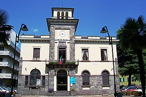 Darfo Boario Terme - the Town Hall