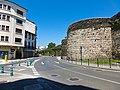 Muralla romana de Lugo, recinto suroeste 1.jpg