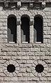 Muro lateral da igrexa parroquial de Sant Pere Martir. Escaldes-Engordany. Andorra 77.jpg
