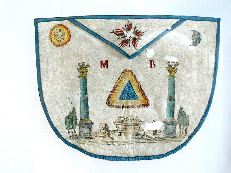 apron of a freemason