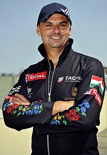 Tamás Nádas Hungarian air racer
