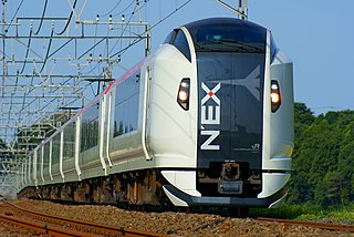 service providing passenger rail transport from an airport to a nearby city