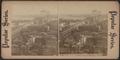 N.Y. & Brooklyn bridge from Tribune building, N.Y, from Robert N. Dennis collection of stereoscopic views.png