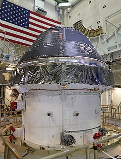 Orion (spacecraft) beyond-low-Earth-orbit crewed spacecraft