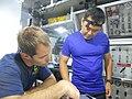 NEEMO 18 Aki Hoshide and Thomas Pesquet.jpg