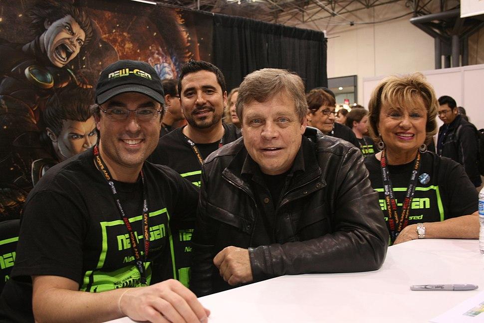 NEW-GEN Creators and Mark Hamill