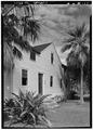 NORTH (FRONT) FACADE, FROM NORTHEAST - Mission Frame House, King and Kawaiahao Streets, Honolulu, Honolulu County, HI HABS HI,2-HONLU,19-1.tif