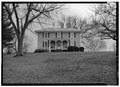 NORTH FRONT - East View, Near Route 613, Trevilians, Louisa County, VA HABS VA,55-TREV.V,2-1.tif