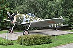 Nakajima Ki43 Hayabusa (ID unknown) – Victory Park, Moscow (24946036498).jpg