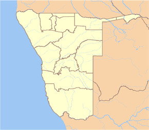 Khorixas is located in Namibia