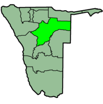Otjozondjupa Region - Image: Namibia Regions Otjozondjupa 250px
