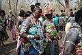 Nan Lilé, prêtresse de la divinité Sakpata, appelée dieu de la terre au Bénin 03.jpg