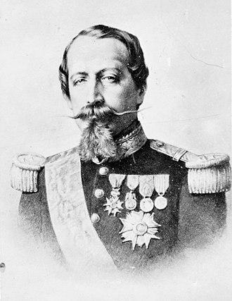 Third cabinet of Napoleon III - Napoleon III