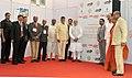 Narendra Modi at foundation stone ceremony of Shri Venkateswara Mobile & Electronics Manufacturing Hub, in Tirupati, Andhra Pradesh. The Governor of Andhra Pradesh and Telangana, Shri E.S.L. Narasimhan.jpg