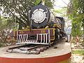 Narrow Gauge Steam Locomotive 45ZE - Santragachi Railway Station - Howrah 2012-01-26 1626.JPG