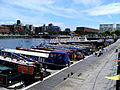 Narrowboats in the Salthouse Dock, Liverpool.jpg