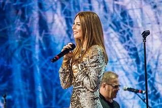 Natalia Podolskaya Belarusian singer