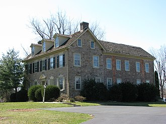 Warrington Township, Bucks County, Pennsylvania - Nathaniel Irwin House