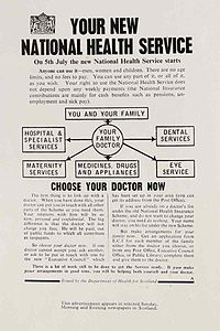 National health service essay