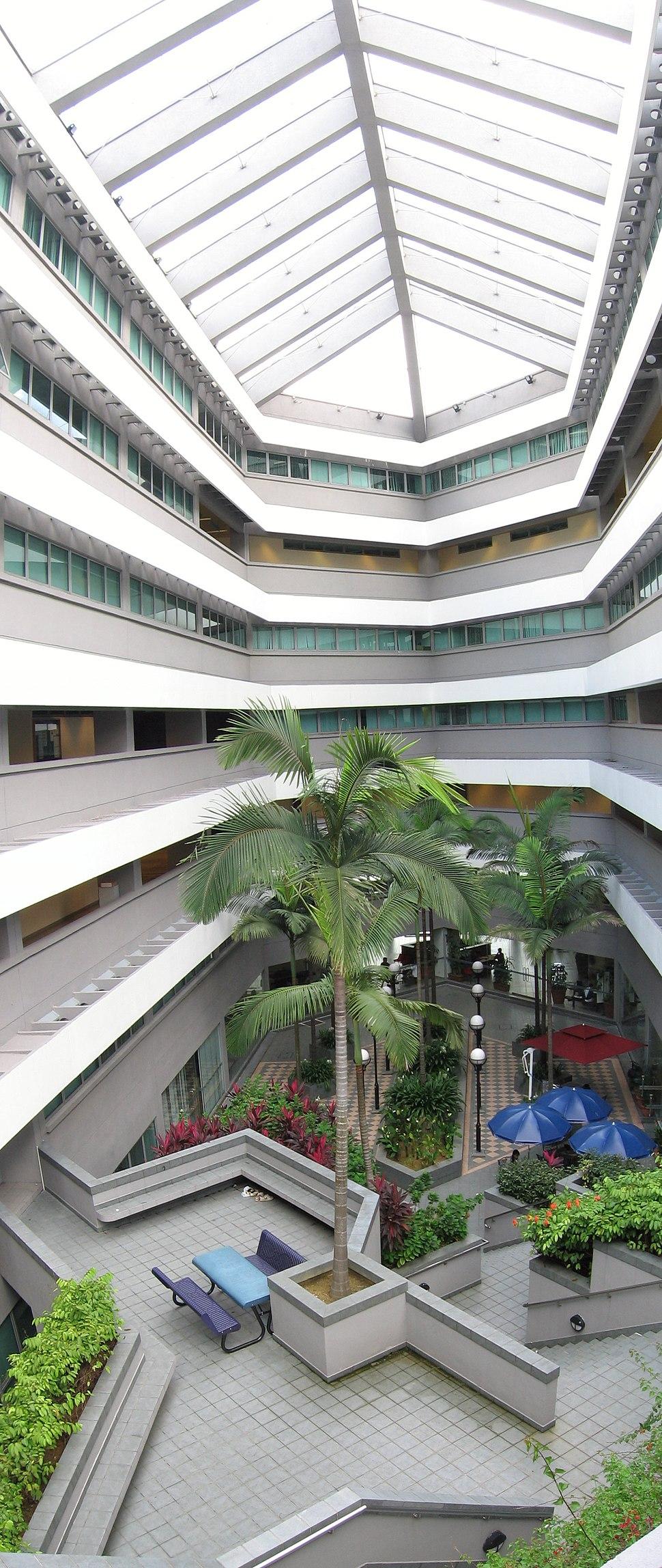 National University of Singapore, Faculty of Engineering, panorama, Nov 06