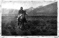 Native American on horseback Sunset magazine.png