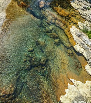 Laurino - Image: Natural Springs, Laurino, Italy
