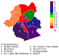 Nederlandstaligen in Brussels Hoofdstedelijk Gewest op basis van regionale verkiezingen 7 juni 2009.PNG