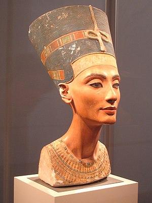 Nefertiti Bust - Nefertiti bust