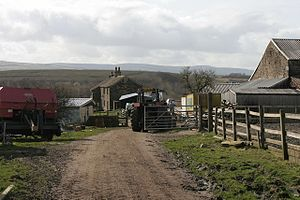Listed buildings in Briercliffe - Image: Netherwood Farm geograph.org.uk 1220696