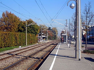 Hardt Railway - Neureut Bärenweg stop