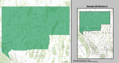 Nevada's 2nd congressional district - since January 3, 2013.