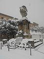 Neve a Rieti - 3 febbraio 2012 ore 14 - monumento ai caduti 1915-18.JPG