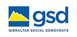 Gibraltar Social Democrats - Image: New GSD Logo 2018