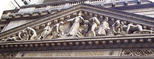 New York Stock Exchange pediment