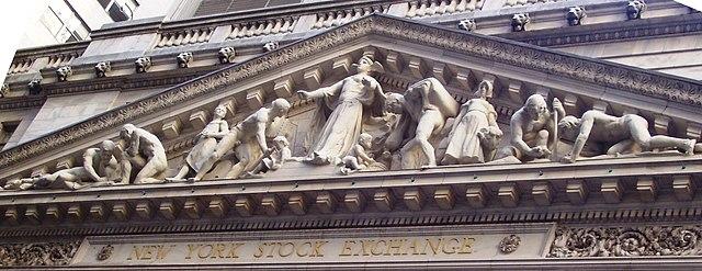 NYSE Pediment