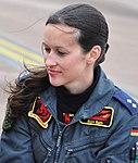 Nicola Baumann, 2nd female fighter pilot of Luftwaffe (GAF).jpg