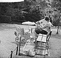 Nieuws uit Artis Moeder en kind in Artis in de zon, Bestanddeelnr 912-5661.jpg