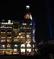 Night lighting - Nevsky Prospekt, Singer House 01.jpg