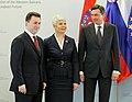 Nikola Gruevski, Jadranka Kosor in Borut Pahor 2010-03-20.jpg