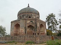 Nila Gumbad or Blue Dome, adjacent to the Humayun's tomb complex, Delhi.jpg