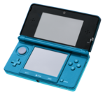 Nintendo 3DS Aqua Blue.