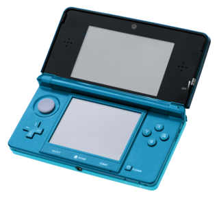 Nintendo 3DS Portable 3D dual-screen handheld by Nintendo