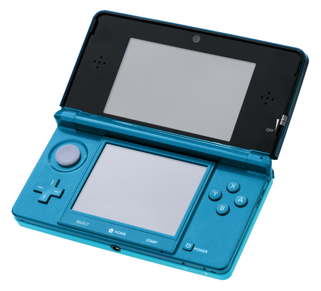 IMAGE(http://upload.wikimedia.org/wikipedia/commons/thumb/0/0a/Nintendo-3DS-AquaOpen.png/663px-Nintendo-3DS-AquaOpen.png)