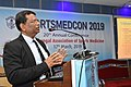 Nisith Ranjan Chowdhury Delivering Lecture - Quality Medical care - SPORTSMEDCON 2019 - SSKM Hospital - Kolkata 2019-03-17 3487.JPG