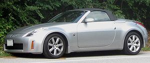 Nissan 350Z photographed in College Park, Mary...