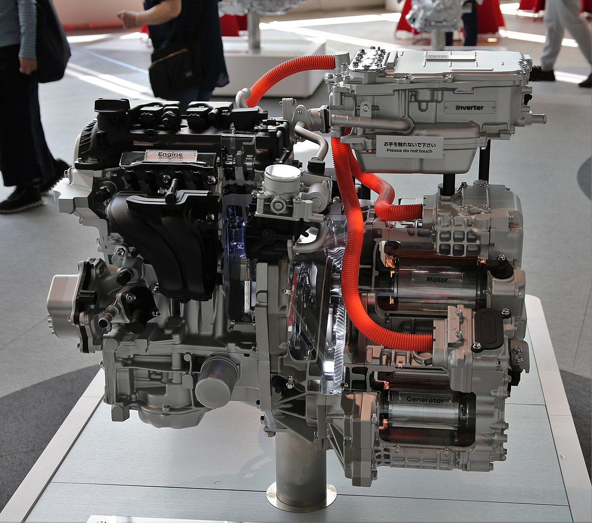 Px Nissan Note E Power Powertrain