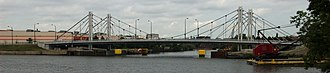 North Avenue Bridge - Image: North Avenue Bridge from Goose Island, Chicago, Illinois
