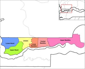 Central Baddibu - Districts of North Bank Division